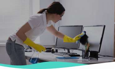 Генерално чистење и одржување на хигиена во деловни простории