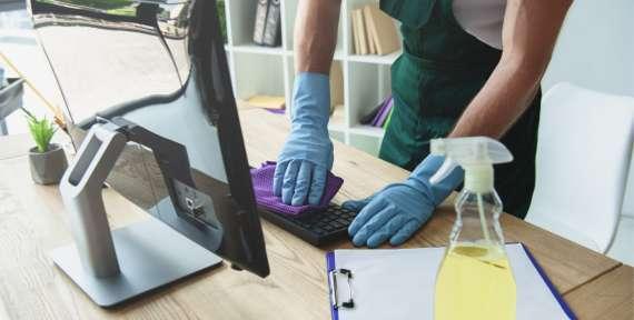 Професионално чистење на Вашите деловни простории